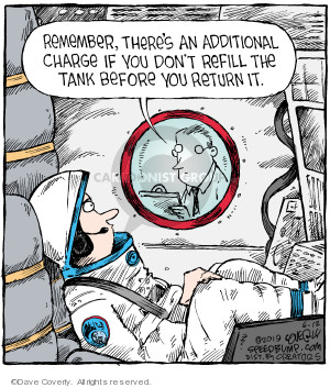 Comic Strip Dave Coverly  Speed Bump 2019-06-12 astronaut