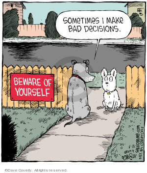 Comic Strip Dave Coverly  Speed Bump 2019-06-13 bad