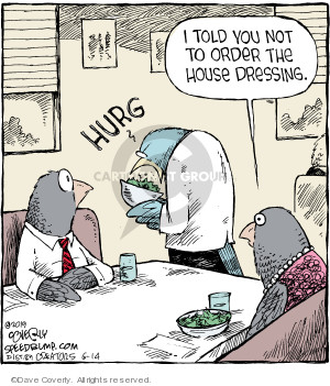 Cartoonist Dave Coverly  Speed Bump 2019-06-14 bird