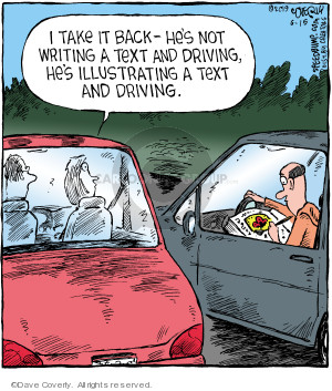 Comic Strip Dave Coverly  Speed Bump 2019-06-15 back