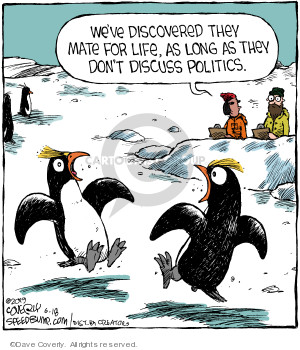 Comic Strip Dave Coverly  Speed Bump 2019-06-18 conversation