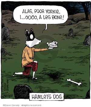 Comic Strip Dave Coverly  Speed Bump 2019-06-25 dog bone