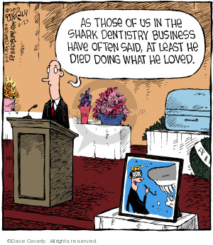 Comic Strip Dave Coverly  Speed Bump 2019-06-27 work
