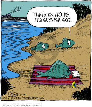 Comic Strip Dave Coverly  Speed Bump 2019-06-28 fish