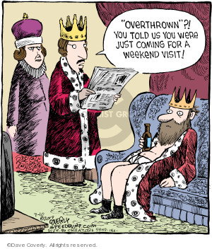 Comic Strip Dave Coverly  Speed Bump 2019-07-10 weekend