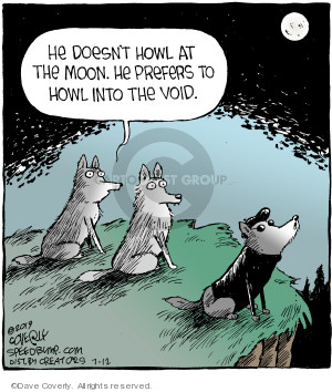 Comic Strip Dave Coverly  Speed Bump 2019-07-12 word