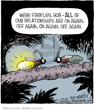 Comic Strip Dave Coverly  Speed Bump 2019-07-13 mating