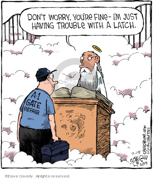 Comic Strip Dave Coverly  Speed Bump 2019-07-15 heaven