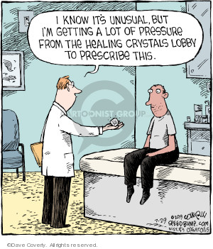 Comic Strip Dave Coverly  Speed Bump 2019-07-29 prescription