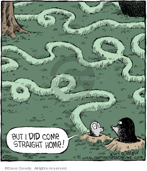 Comic Strip Dave Coverly  Speed Bump 2019-07-31 path