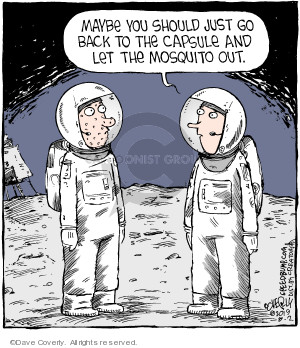 Comic Strip Dave Coverly  Speed Bump 2019-08-02 astronaut