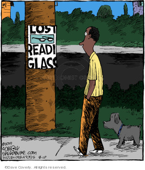 Cartoonist Dave Coverly  Speed Bump 2019-08-10 miss