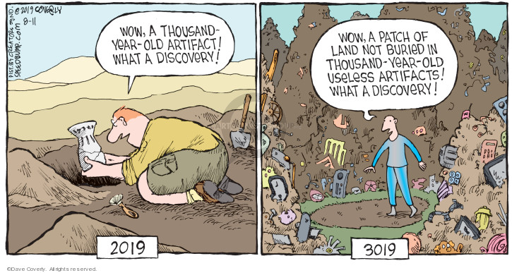 Cartoonist Dave Coverly  Speed Bump 2019-08-11 discovery