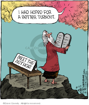 Cartoonist Dave Coverly  Speed Bump 2019-08-20 biblical