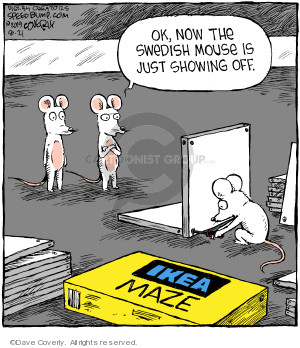 Comic Strip Dave Coverly  Speed Bump 2019-08-21 assemble