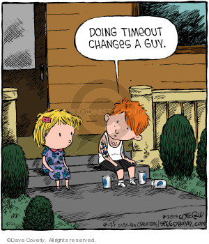 Comic Strip Dave Coverly  Speed Bump 2019-08-23 prison