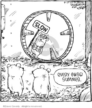Comic Strip Dave Coverly  Speed Bump 2019-08-29 summer