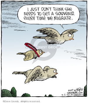Comic Strip Dave Coverly  Speed Bump 2019-09-02 travel