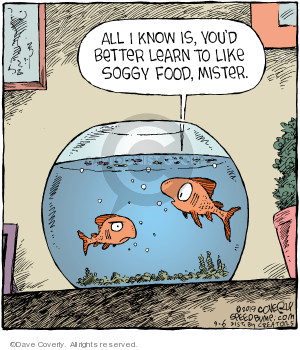 Comic Strip Dave Coverly  Speed Bump 2019-09-06 fish