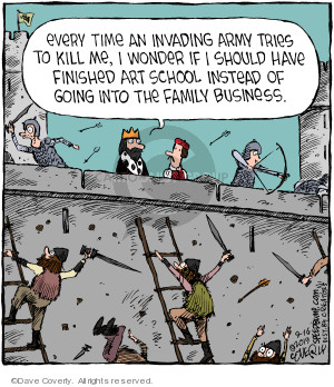 Comic Strip Dave Coverly  Speed Bump 2019-09-16 school