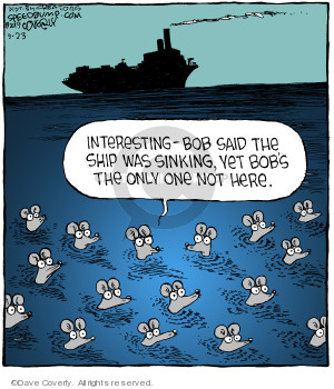 Comic Strip Dave Coverly  Speed Bump 2019-09-23 boat