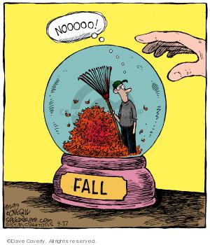 Comic Strip Dave Coverly  Speed Bump 2019-09-27 fall autumn