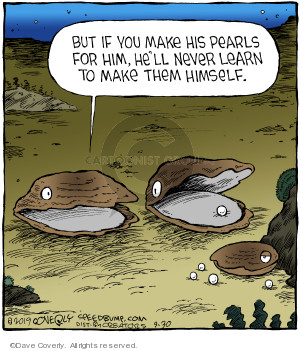 Comic Strip Dave Coverly  Speed Bump 2019-09-30 parenting