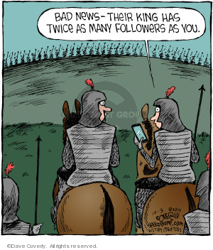 Comic Strip Dave Coverly  Speed Bump 2019-10-03 social network