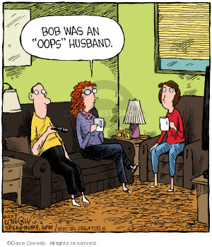 Comic Strip Dave Coverly  Speed Bump 2019-10-04 husband