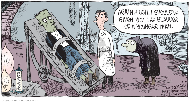 Cartoonist Dave Coverly  Speed Bump 2019-10-06 doctor