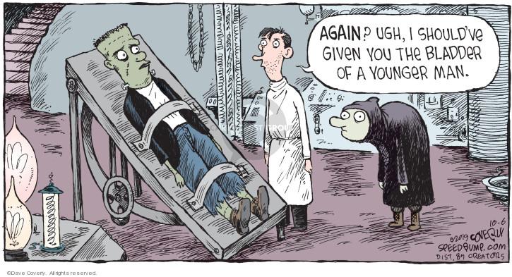 Cartoonist Dave Coverly  Speed Bump 2019-10-06 ugh
