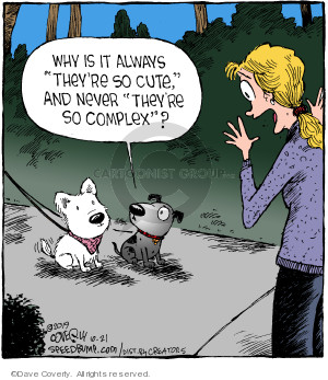 Comic Strip Dave Coverly  Speed Bump 2019-10-21 animal