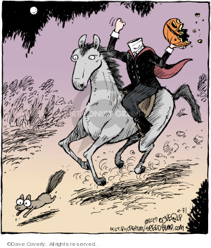 Comic Strip Dave Coverly  Speed Bump 2019-10-31 Halloween