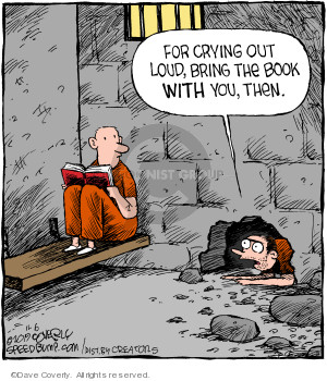 Cartoonist Dave Coverly  Speed Bump 2019-11-06 jail