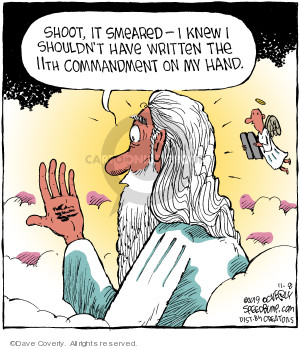 Cartoonist Dave Coverly  Speed Bump 2019-11-08 biblical