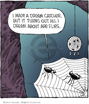 Comic Strip Dave Coverly  Speed Bump 2019-11-26 out