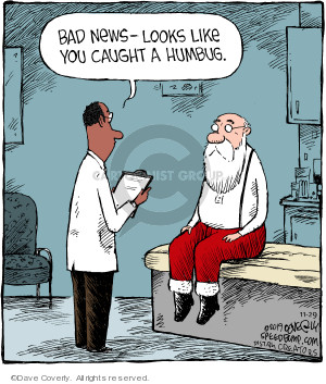 Cartoonist Dave Coverly  Speed Bump 2019-11-29 doctor