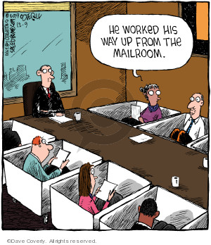 Comic Strip Dave Coverly  Speed Bump 2019-12-09 workplace