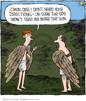 Comic Strip Dave Coverly  Speed Bump 2019-12-28 Greek mythology