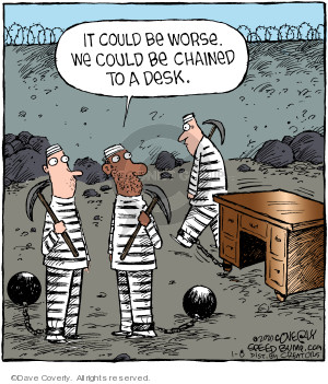 Comic Strip Dave Coverly  Speed Bump 2020-01-08 workplace