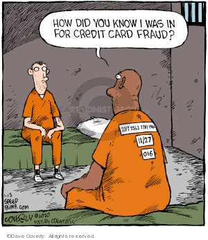 Cartoonist Dave Coverly  Speed Bump 2020-01-13 jail