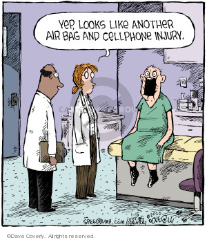 Comic Strip Dave Coverly  Speed Bump 2020-01-15 injury