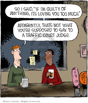 Comic Strip Dave Coverly  Speed Bump 2020-01-17 court