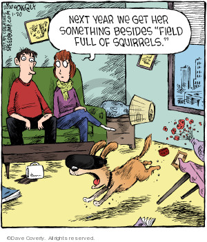 Comic Strip Dave Coverly  Speed Bump 2020-01-20 dog