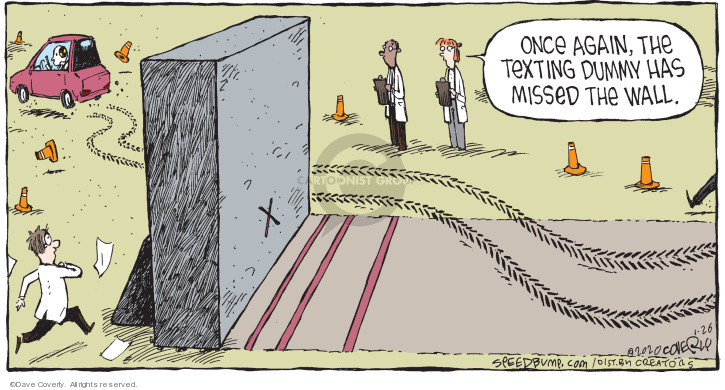 Cartoonist Dave Coverly  Speed Bump 2020-01-26 miss