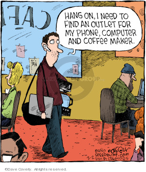 Comic Strip Dave Coverly  Speed Bump 2020-03-02 coffee