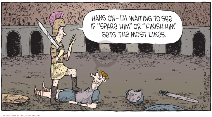 Comic Strip Dave Coverly  Speed Bump 2020-03-29 social media