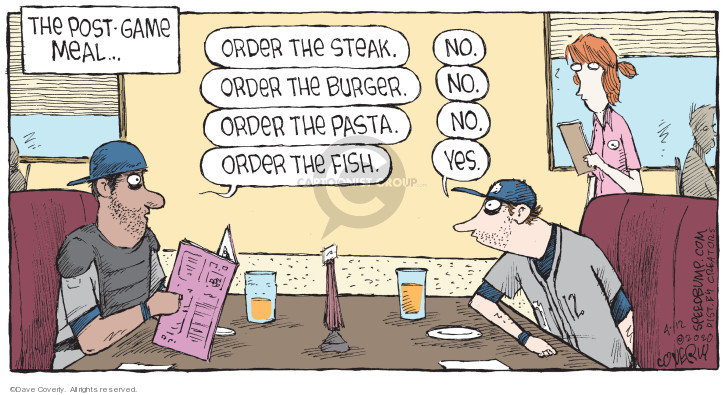 Comic Strip Dave Coverly  Speed Bump 2020-04-12 baseball