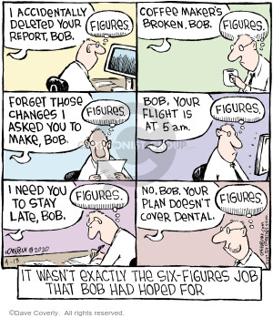 Comic Strip Dave Coverly  Speed Bump 2020-04-13 wasn't