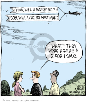 Comic Strip Dave Coverly  Speed Bump 2020-07-18 wedding